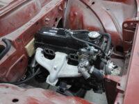 De Opel Rekord is (tijdelijk) herenigd met zijn motorblok
