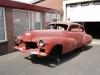 De Cadillac voor het eerst na vele jaren weer eens buiten!