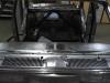 Dashboard van de Opel afgebeten en geschuurd.