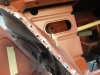Driehoekplaatje rechtsvoor onder koplamp vervangen