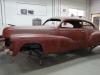 Twee weken later dan verwacht heb ik het toch voor elkaar: de Cadillac is klaar om te worden gespoten.